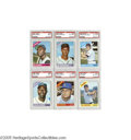 Baseball Cards:Sets, 1966 Topps Baseball High-Grade Complete Set (598). A short-print of the final seventy-five cards in this large issue gives ...