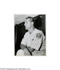 Baseball Collectibles:Photos, 1920's-50's Wire Photographs Lot of 50 with Ruth, Gehrig. Comprisedalmost entirely of very desirable action shots, the few...