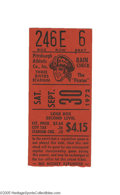Baseball Collectibles:Others, 1972 Roberto Clemente's 3,000th Hit & Last Game Ticket Stub.Tragedy would strike three months later when the Hall of Famer...