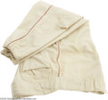 Baseball Collectibles:Uniforms, Early 1940's Ted Williams Game Worn Pants. For all but the most well-funded collectors of sporting artifacts among us, the ...