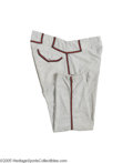 Baseball Collectibles:Uniforms, 1954 Ernie Johnson Game Worn Pants. Acquired from the same source that brought us the fabulous Warren Spahn game worn jerse...