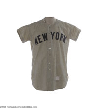 1954 Mickey Mantle Game Worn Jersey. It was Groundhog's Day, 1954. While an expectant nation awaited the forecast on the...