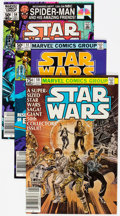 Modern Age (1980-Present):Science Fiction, Star Wars Group of 9 (Marvel, 1981-84) Condition: Average NM-....(Total: 9 Comic Books)
