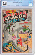 Silver Age (1956-1969):Superhero, The Brave and the Bold #28 Justice League of America (DC, 1960) CGC GD+ 2.5 Cream to off-white pages....