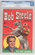Golden Age (1938-1955):Western, Bob Steele Western #4 Crowley Copy Pedigree (Fawcett Publications, 1951) CGC NM 9.4 Off-white pages....