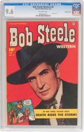 Golden Age (1938-1955):Western, Bob Steele Western #9 Crowley Copy Pedigree (Fawcett Publications, 1952) CGC NM+ 9.6 Off-white pages....