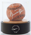 Autographs:Baseballs, Michael Jordan Single Signed Limited Edition Baseball, Upper Deck Authenticated.. ...