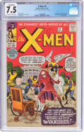 Silver Age (1956-1969):Superhero, X-Men #2 (Marvel, 1963) CGC Conserved VF- 7.5 Off-white to whitepages....