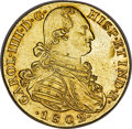 Colombia, Colombia: Charles IV gold 8 Escudos 1802 NR-JJ MS62+ NGC,...