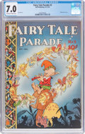 Golden Age (1938-1955):Miscellaneous, Fairy Tale Parade #3 (Dell, 1942) CGC FN/VF 7.0 Off-white to white pages....
