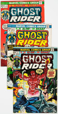 Bronze Age (1970-1979):Superhero, Ghost Rider #2-81 Group (Marvel, 1973-83) Condition: Average FN/VF.... (Total: 80 Comic Books)