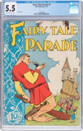 Golden Age (1938-1955):Funny Animal, Fairy Tale Parade #1 (Dell, 1942) CGC FN- 5.5 Cream to off-white pages....