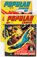 Golden Age (1938-1955):Miscellaneous, Popular Comics #63 and 72 Group (Dell, 1941-42).... (Total: 2 Comic Books)