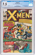 Silver Age (1956-1969):Superhero, X-Men #9 (Marvel, 1965) CGC VF- 7.5 Off-white to white pag...