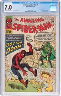 Silver Age (1956-1969):Superhero, The Amazing Spider-Man #5 (Marvel, 1963) CGC FN/VF 7.0 Cream to off-white pages....