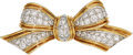 Estate Jewelry:Brooches - Pins, Diamond, Platinum, Gold Brooch, Tiffany & Co.. ...