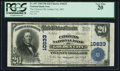 National Bank Notes:Missouri, Golden City, MO - $20 1902 Plain Back Fr. 657 The Citizens NB Ch. # 10633. ...