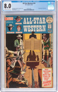 Bronze Age (1970-1979):Western, All-Star Western #10 (DC, 1972) CGC VF 8.0 Off-white to white pages....