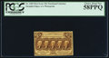 Fractional Currency:First Issue, Fr. 1282 25¢ First Issue PCGS Choice About New 58PPQ.. ...