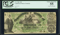 Confederate Notes:1861 Issues, T17 $20 1861.. ...