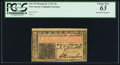 Colonial Notes:New Jersey, John Hart Signature New Jersey March 25, 1776 12s PCGS Choice New 63.. ...