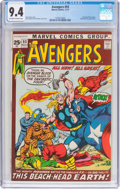 Bronze Age (1970-1979):Superhero, The Avengers #93 (Marvel, 1971) CGC NM 9.4 Off-white to whitepages....