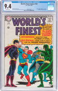 Silver Age (1956-1969):Superhero, World's Finest Comics #159 (DC, 1966) CGC NM 9.4 Off-whitepages....