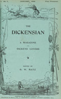 Books:Literature Pre-1900, Group of Ninety-Four Dickensian Issues [Complete Set] with Indexes. London: 1905-2017. Original issues.... (Total: 94 Items)
