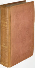 Books:Literature Pre-1900, Charles Dickens. Bleak House. London: Bradbury and Evans, 1853. First edition....