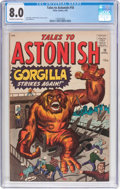 Silver Age (1956-1969):Horror, Tales to Astonish #18 (Marvel, 1961) CGC VF 8.0 Off-white to whitepages....