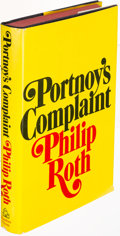Books:Literature 1900-up, Philip Roth. Portnoy's Complaint. New York: [1969]. Firstedition, inscribed....
