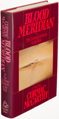 Books:Literature 1900-up, Cormac McCarthy. Blood Meridian. New York: [1985]. Firstedition....