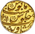 Afghanistan, Afghanistan: Taimur Shah (as King) gold Mohur AH 1192 Year 6 (AD 1792/3) MS66 PCGS,...