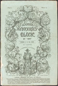 Books:Literature Pre-1900, [Charles Dickens]. Master Humphrey's Clock. London: April 1840-Nov. 1841. Original monthly parts....
