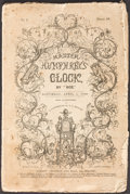 Books:Literature Pre-1900, [Charles Dickens]. Master Humphrey's Clock. London: April 1840-Nov. 1841. Original weekly parts....