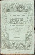 Books:Literature Pre-1900, [Charles Dickens]. The Life and Adventures of Martin Chuzzlewit. London: Jan. 1843-July 1844. Original serial parts....