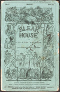 Books:Literature Pre-1900, Charles Dickens. Bleak House. London: March 1852-Sept. 1853. Original serial parts....