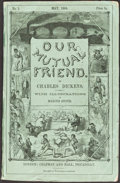 Books:Literature Pre-1900, Charles Dickens. Our Mutual Friend. London: May 1864-Nov. 1865. Original serial parts....