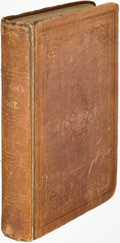 Books:Literature Pre-1900, [Charles Dickens]. Sketches by Boz. London: 1839. Second edition, first in a single volume....