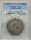 Early Half Dollars, 1795 50C 2 Leaves, O-103a, T-29, R.5, VG10 PCGS. T...