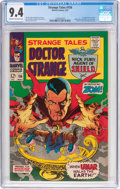 Silver Age (1956-1969):Horror, Strange Tales #156 (Marvel, 1967) CGC NM 9.4 Cream to off-whitepages....