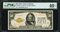 Small Size:Gold Certificates, Fr. 2404 $50 1928 Gold Certificate. PMG Extremely Fine 40 EPQ.. ...