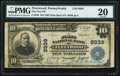 National Bank Notes:Pennsylvania, Fleetwood, PA - $10 1902 Plain Back Fr. 626 The First NB Ch. # 8939. ...
