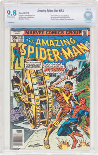 The Amazing Spider-Man #183 (Marvel, 1978) CBCS NM/MT 9.8 Off-white to white pages