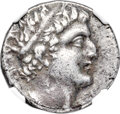 Ancients:Judaea, Ancients: JUDAEA. Ascalon. Autonomous Issue during the time ofPtolemy XII Auletes (ca. 80-51 BC). AR tetradrachm (24mm, 13.56 gm,1h). ...