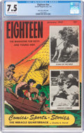 Golden Age (1938-1955):Miscellaneous, Eighteen #nn Mile High Pedigree (Parents' Magazine Institute, 1947) CGC VF- 7.5 Off-white to white pages....