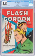 Golden Age (1938-1955):Science Fiction, Four Color #10 Flash Gordon - File Copy (Dell, 1942) CGC VF+ 8.5Off-white to white pages....