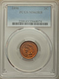 Indian Cents: , 1898 1C MS63 Red and Brown PCGS. PCGS Population: (150/510). NGC Census: (89/382). CDN: $70 Whsle. Bid for problem-free NGC...