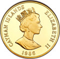 Cayman Islands, Cayman Islands: British Colony. Elizabeth II gold Proof 250 Dollars1986 PR68 Ultra Cameo NGC,...