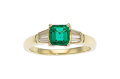 Estate Jewelry:Rings, Emerald, Diamond, Gold Ring, Tiffany & Co. The...